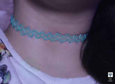 Tattoo Choker Sea + Pulseira