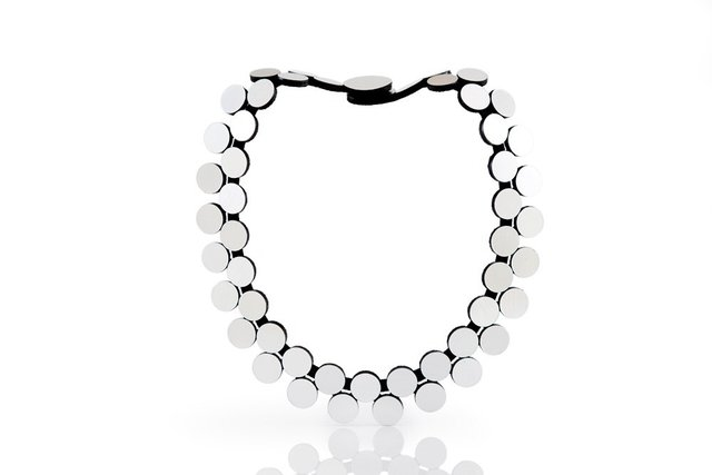 Abstraction Necklace Double Strand - New In - Nueva Colección - Iskin Sisters