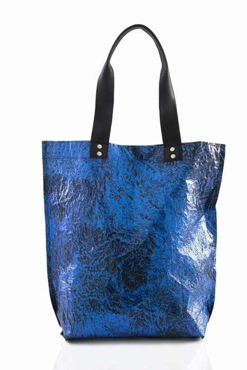 Iskin Cartera Shopping Bag Large - Tote - Azul en internet