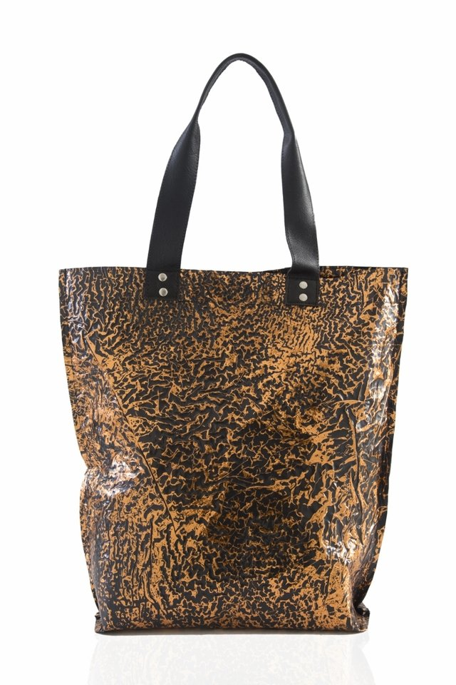 Iskin Cartera Shopping Bag Large - Tote - Cobre