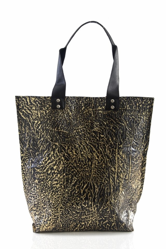 Iskin Cartera Shopping Bag Large - Tote - Oro