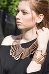 New In! Collar Ginkgo - Joyería Contemporánea