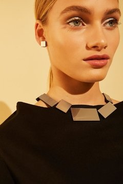 New In! Collar Kaia Rectangle - Joyería Contemporánea en internet