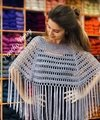 COMBO PONCHO FANSY - TALLE S/M