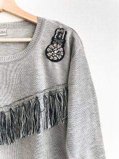SWEATER FUNK GRIS en internet