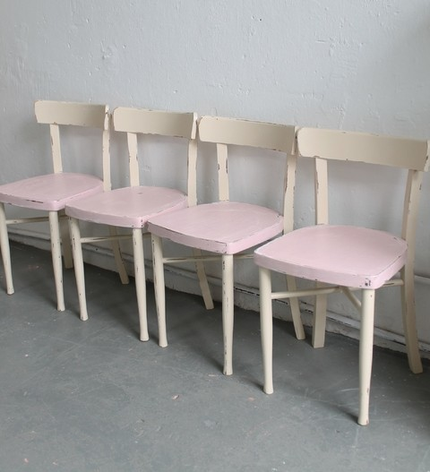 Sillas Thonet bar pink