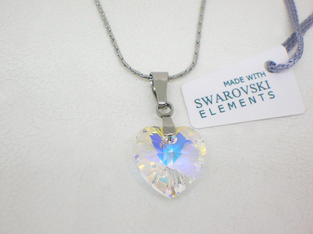 34d2d26df2c3 corazón mujer cristal Swarovski