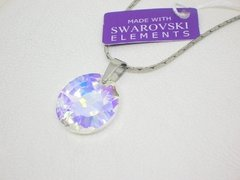 Dije Circle of Light + cadena- Swarovski