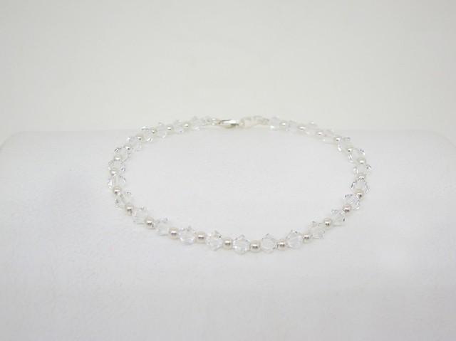 6b694d35b6b pulsera cristal swarovski y plata