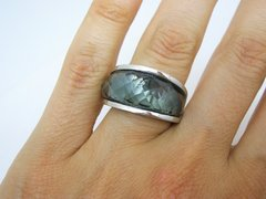 Anillo Nirvana Medium  Grey - Acero - comprar online