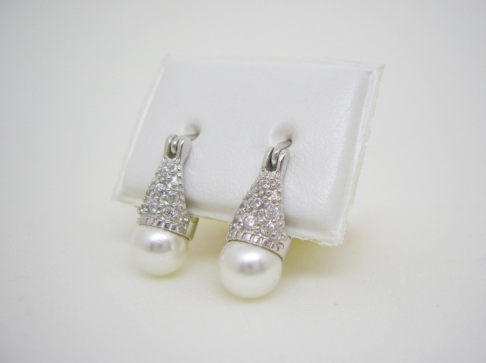 7ed2b41cf097 Aros Lady Di perla blancos plata