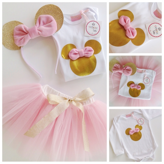 KIT Minnie Glam Manga Larga