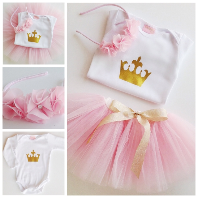 Kit MINI PRINCESA Manga larga