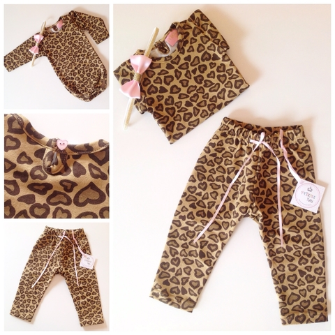Kit Animal Print LOVE bebe - comprar online