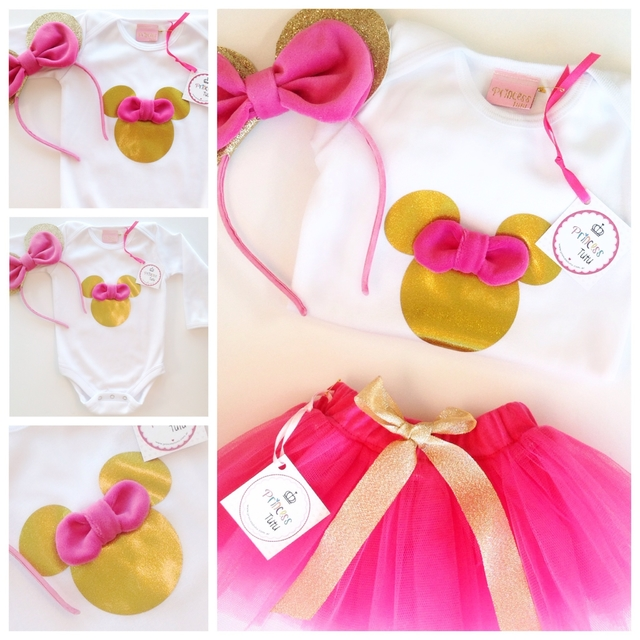 KIT Minnie Glam Manga Larga en internet