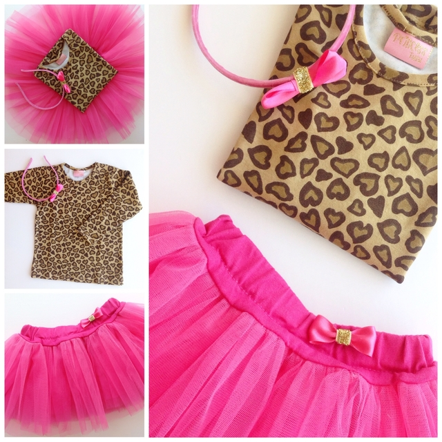 kit Tutu nenas Animal Print Love - comprar online