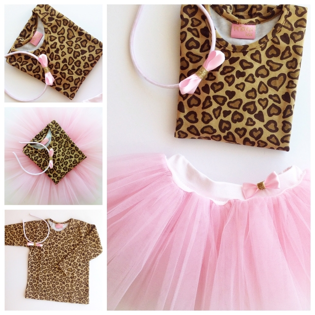 kit Tutu nenas Animal Print Love en internet
