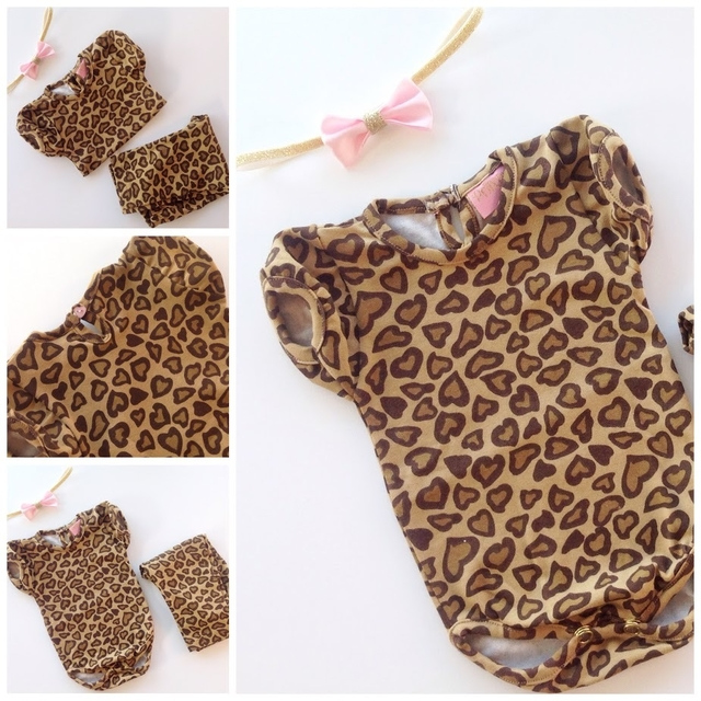 Kit Animal Print LOVE manga corta - comprar online