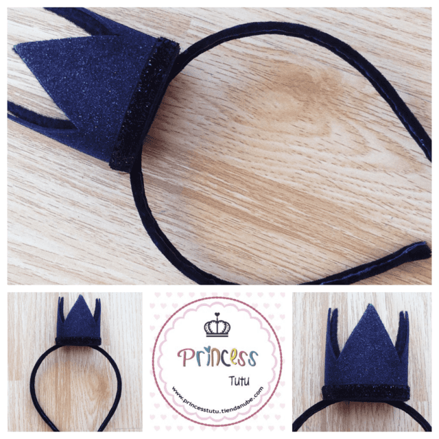Vincha Mini Corona - Princess tutu