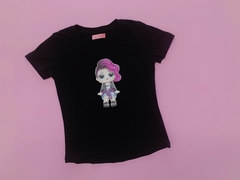 REMERA ROCKERS BLACK