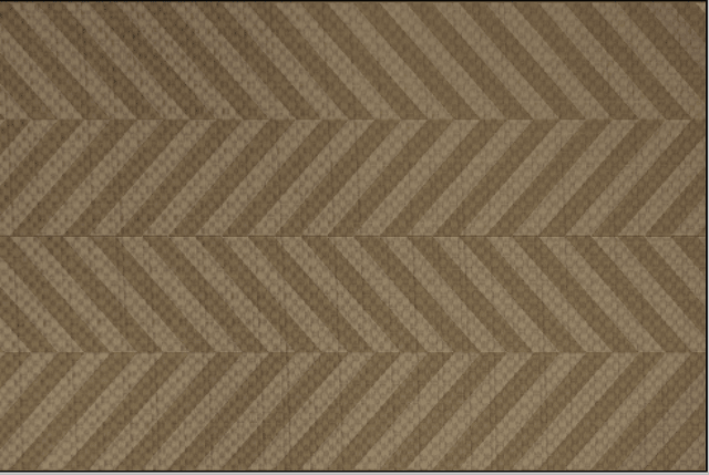 Tapete Chevron marron