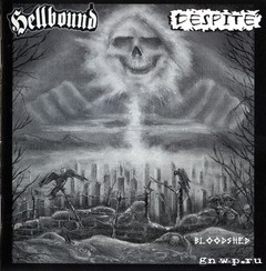 HELLBOUND / DESPITE - Split LP