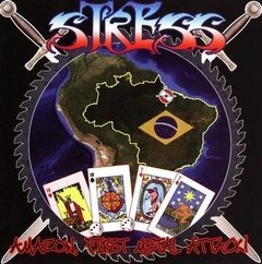STRESS - amazon, first metal attack - CD ( Edição europeia )