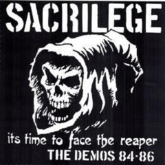 SACRILEGE - it´s time to face the reaper, the demos 84-86 - Duplo LP