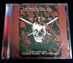G.I.S.M. - rituals for the blind dead, live roadburn festival 2016 - CD