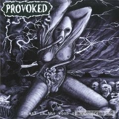 PROVOKED ‎– infant in the womb of warfare - LP
