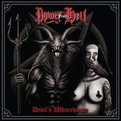 POWER FROM HELL - devils whorehouse - LP