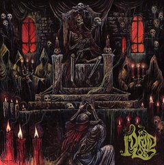 druid lord - grotesque offerings - duplo lp em splatter vinil - importado!