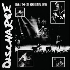 DISCHARGE - live at the citu garden new jersey - LP ( Edição limitada colorida )