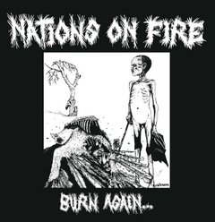 "NATIONS ON FIRE - burn again - 12"" ( Edição limitada )"