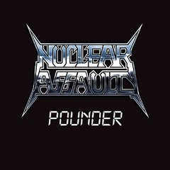 "NUCLEAR ASSAULT - pounder - 12"" ( Etched vinil )"