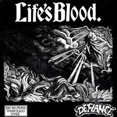 LIFE´S BLOOD - defiance - EP