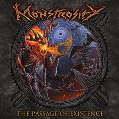 MONSTROSITY - THE PASSAGE OF EXISTENCE - SLIPCASE CD