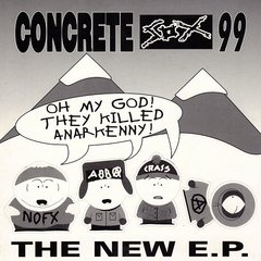 CONCRETE SOX - the new ep - EP