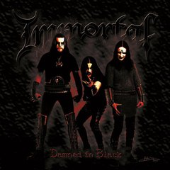 Immortal ‎– Damned In Black - CD