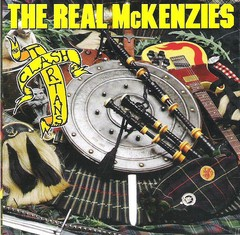 REAL MCKENZIES, THE - clash of the tartans - CD