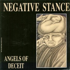 NEGATIVE STANCE - angels of deceit - LP