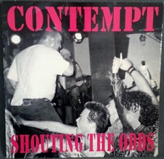 CONTEMPT - shouting the odds - LP
