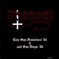 Possessed ‎– Live In San Francisco '84 & San Diego '86 - CD ( Importado )