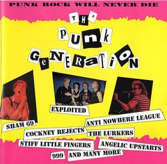 V/A - THE PUNK GENERATION - 4 x CD Box Pack - Importado!