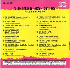 V/A - THE PUNK GENERATION - 4 x CD Box Pack - Importado! na internet