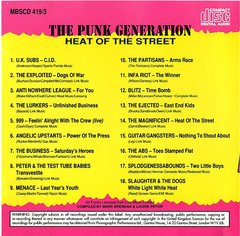 V/A - THE PUNK GENERATION - 4 x CD Box Pack - Importado! - Your Poison Records
