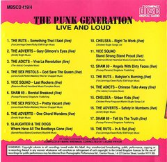V/A - THE PUNK GENERATION - 4 x CD Box Pack - Importado! - loja online