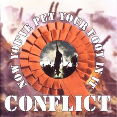 conflict - now you´ve put your foot in it - cd ( importado )