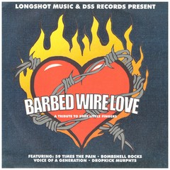 V/A - Barbed wire love - EP com: Dropkick Murphys, Voice of a Generation, etc.