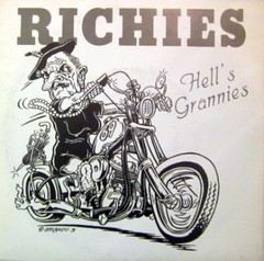 RICHIES - hell´s grannies - EP